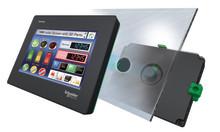 Cybersäker distansstyrning med nya operatörspanelen Harmony STM6 från Schneider Electric