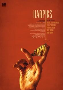 Invitation til premiere på HARPIKS af Daniel Borgmann