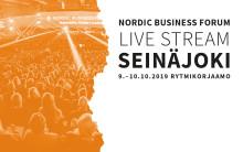 Super suosittu Nordic Business Forum Live Stream jälleen Rytmiksellä. ILMOITTAUDU HETI!
