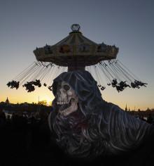 Nytt skräckhus och besökstak under Halloween på Gröna Lund