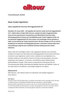 alltours zu Condor Kauf PDF