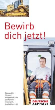 Deutsche Asphalt GmbH - Bewirb dich jetzt!