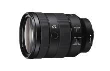 Sony breidt full-frame lensassortiment uit met FE 24–105 mm F4 G OSS standaard zoom met groothoek- / telefotobereik