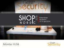 Gate Security på SHOP Nordic 2016, Kistamässan