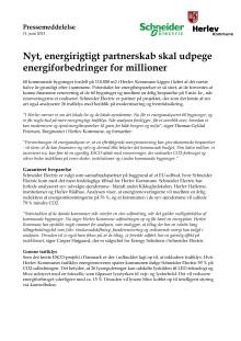 Nyt, energirigtigt partnerskab skal udpege energiforbedringer for millioner