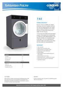 Produktblad T 9 E
