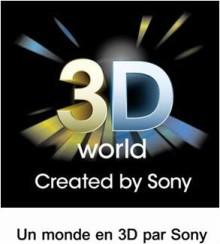 La Coupe du Monde de la FIFA 2010 en 3D by Sony !