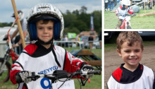 Family release tribute to boy who died following collision in Knaphill