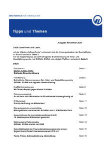 Tipps und Themen 11-2020