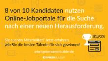 """Candidate Journey Studie 2017 & Infografik: So sehen Bewerber die Etappe """"Jobsuche"""""""