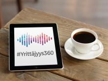 #Yrittäjyys360-podcast nostaa esiin inspiroivia yrittäjätarinoita - ensimmäinen jakso julkaistu