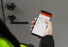 Infobric revolusjonerer byggebransjen med mobil dørlås