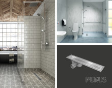 Purus Line Vinyl Plus - den praktiska golvbrunnen för vårdmiljöer!