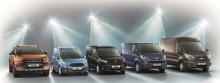 Ford tilbake på topp som mest solgte nyttekjøretøymerke i Europa i 2015