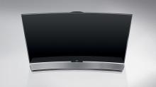Omsluttende lydopplevelse med Curved soundbar fra Samsung