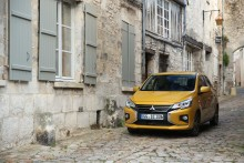 Schicker City-Flitzer: Mitsubishi Space Star mit frischem Design