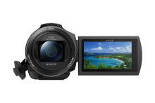 Společnost Sony představuje novou kompaktní videokameru Handycam® s rozlišením 4K a pokročilou technologií stabilizace