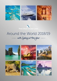 Light up the skies on a Fred. Olsen Cruise Lines 'Around the World' sailing in 2018/19!
