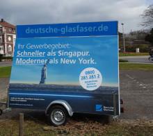 Glasfaserausbau im Gewerbegebiet in Ober-Mörlen: Deutsche Glasfaser informiert Unternehmen