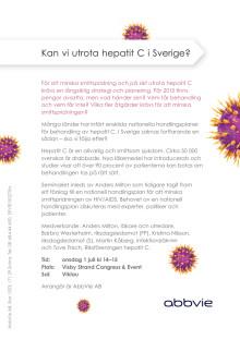 ABBVIE Almedalen Inbjudan Hepatit C