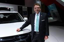 Mitsubishi-Pressechef Helmut Bauer wechselt in den Ruhestand