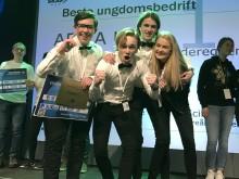 H.K.H. Kronprinsen gjester NM for Ungdomsbedrifter