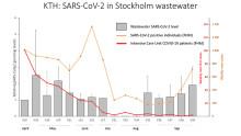 Avloppsvatten visar stor ökning av covid-19 i Stockholm