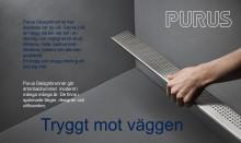 Purus lanserar Trygghetskampanjen steg nr 3 - Tryggt mot väggen