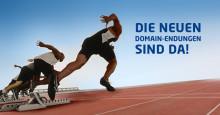 Preise und Termine für jetzt insgesamt 43 neue Domain-Endungen