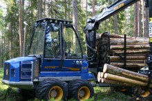 More efficient forest machines are shrinking the market