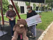 Podologische Praxis Heidrun Held spendet wiederholt für das Kinderhospiz Bärenherz