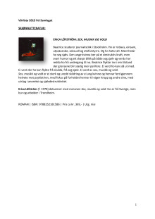 Vårliste 2013 Samlaget