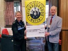 Cash boost for Eastbourne Neighbourhood Watch