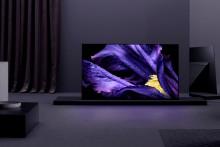 A Sony anuncia a disponibilidade e os preços dos televisores 4K HDR OLED AF9 e LCD ZF9 da série MASTER na Europa