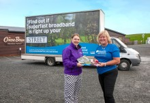 Digital Scotland Superfast Broadband celebrates latest fibre broadband availability across Dumfries and Galloway