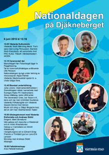 Program nationaldagen 2015