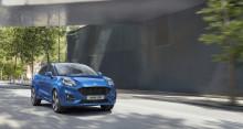 Nya SUV-inspirerade crossovern Ford Puma börjar säljas i slutet av 2019
