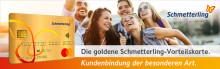 Kundenbindung der Extraklasse mit der goldenen Schmetterling-Vorteilskarte