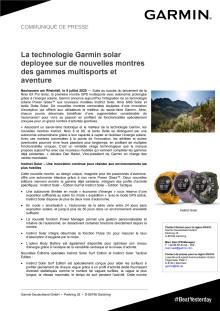 CP Garmin Solar Series