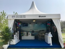 Blueair provides Clean Air at Volvo China Open