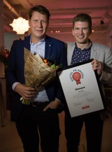 Hermods vinnare av Mynewsdesk Digital PR Awards 2017