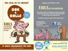 """Velkommen til Bok og bolle 2. mars: """"Fjols"""" med Flu Hartberg"""