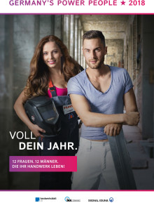 Der Kalender Germany's Power People 2018 ist da