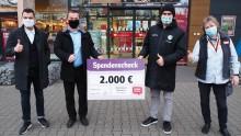 Charity-Woche des SC DHfK: Handballer und REWE sammeln für Bärenherz