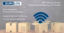 EURO-LOG referiert zu KEP-übergreifender Sendungsverfolgung auf der eLogisticsWorld Conference
