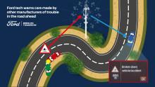 Ford sdílí data z automobilů s ostatními výrobci, aby zvýšil bezpečnost provozu i pro ty motoristy, kteří nejezdí Fordem