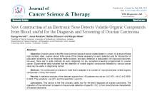 "VOC Diagnostics publicerar artikel i ""Journal of Cancer Science & Therapy"""