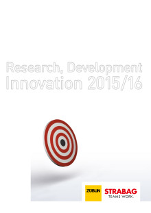 STRABAG und ZÜBLIN: Research, Development, Innovation (2015/2016)