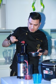 Panasonic Cooking Studio Brings Out the Chef in You