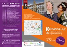 Programm des 7. Katharina-Tags am 25. und 26. Juni 2016